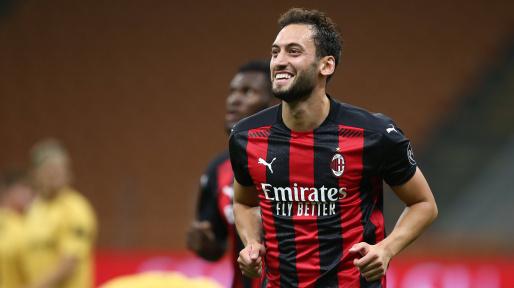 MN: Hakan Calhanoglu's importance to Milan in numbers
