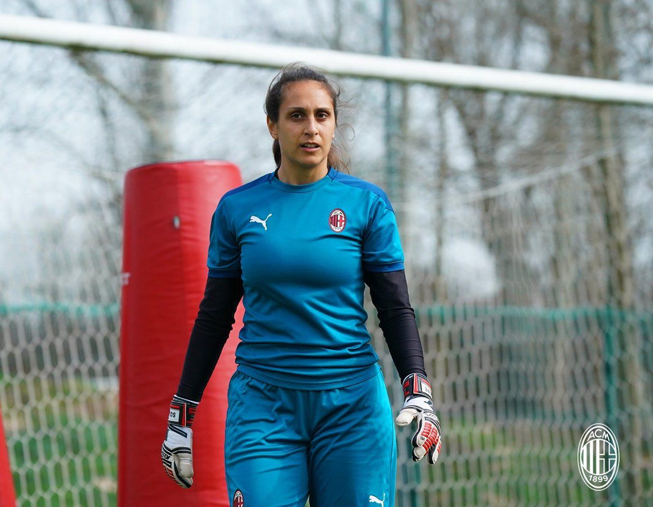 Alessia Piazza bids farewell to AC Milan on social media
