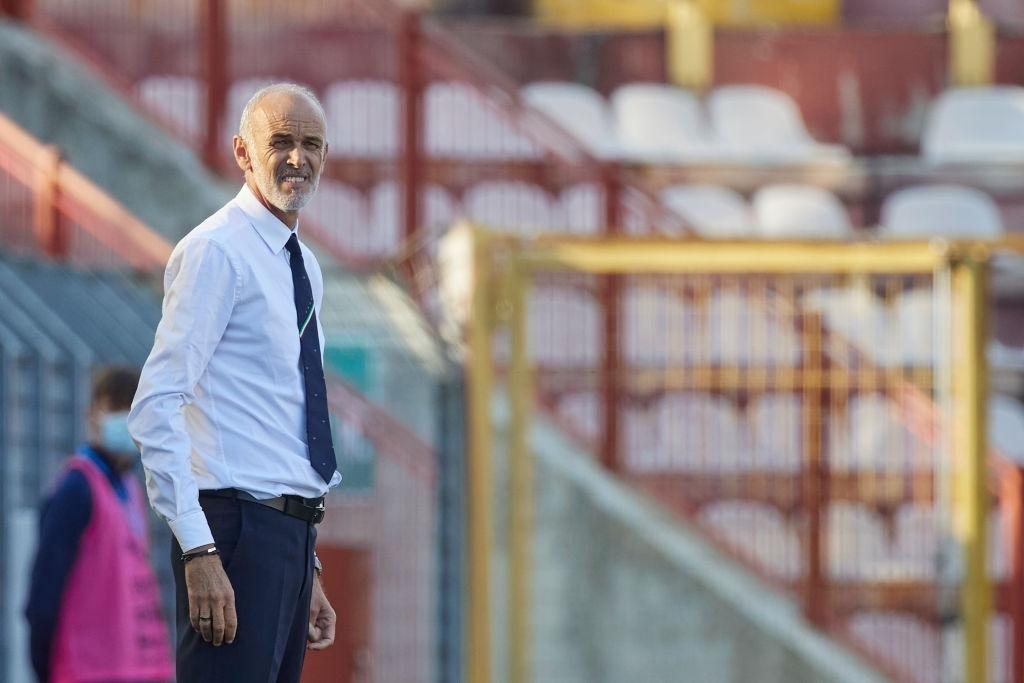 Coach of Sandro Tonali in the U-21 National Team of Italy, Paolo Nicolato